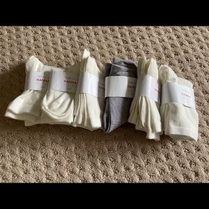 6 packs, 1Y-3Y Hanna Andersson Socks NEW W TAGS